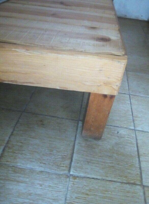 Base matrimonial de madera