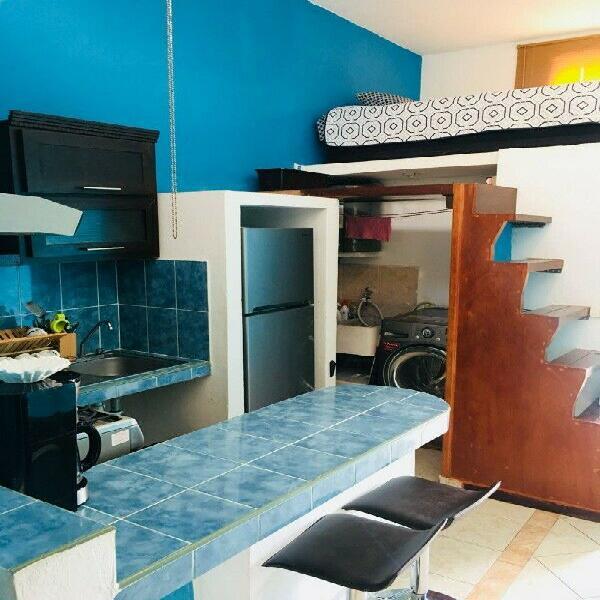 Bonito Loft Amueblado, Zona Centro de Cancun, a 15 min de la