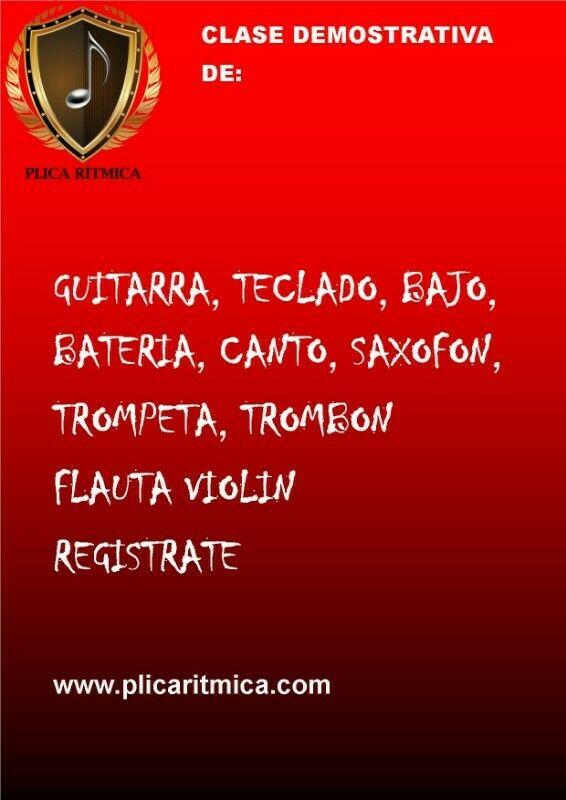 CLASE S DE CANTO, VIOLIN, GUITARRA EN MELCHOR OCAMPO