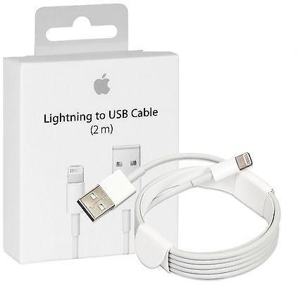 Cable Lightning Apple iPhone 2 Metros Original 5 6 7 8 X