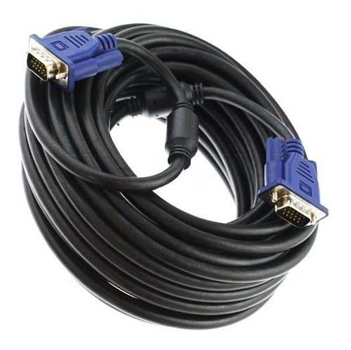 Cable Vga Macho A Vga Macho 20 Metros Laptop Pc Proyector