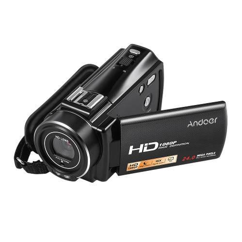 Camara De Vídeo Digital Portátil Hdv-plus V7 Full Hd