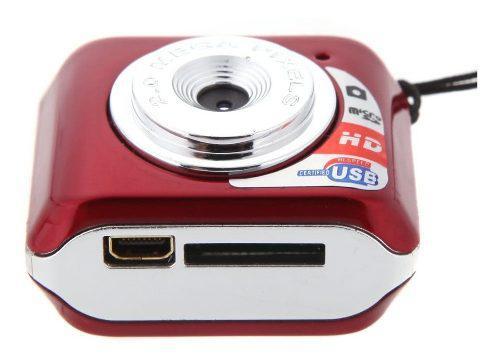 Camara Digital Mini Dv Soporte 32gb Tf Tarjeta Con Microfono