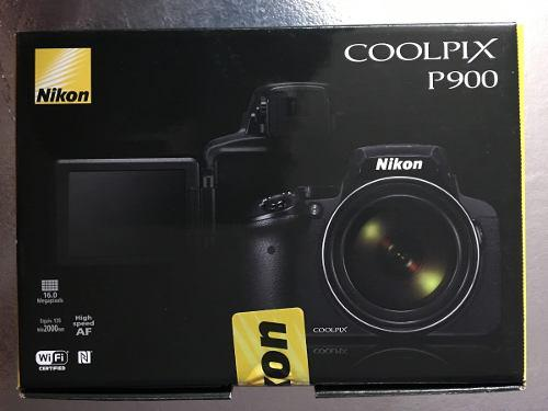 Camara Digital Nikon Coolpix P900 Zoom 83x Nuevo Sellada