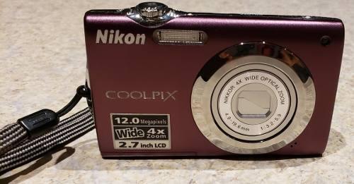 Camara Digital Nikon Coolpix S3000 + Sd + Otros