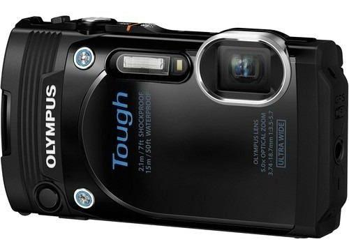 Camara Digital Olympus Stylus Tough Tg-860 Black