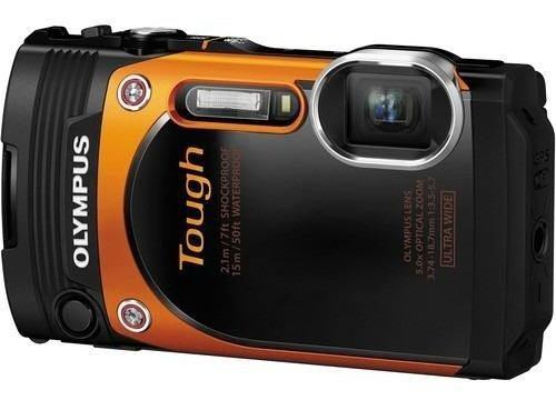 Camara Digital Olympus Stylus Tough Tg-860 Orange