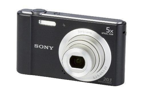 Camara Digital Sony W800 20.1 Mp 5x Pantalla Lcd De 2.7 Negr
