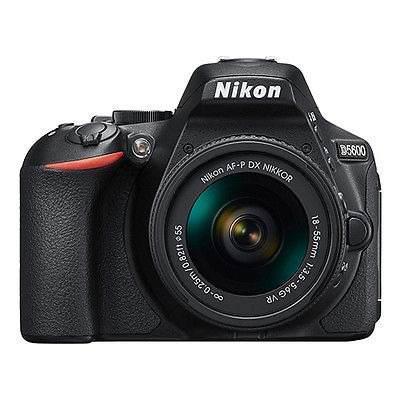 Camara Nikon D5600 24.2 Mp Slr Con Lente18-55mm Af P Dx F/3,
