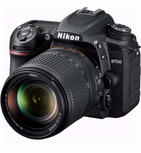 Camara Nikon D7500 Dslr Reflex 18-140mm F/3.5-5.6g Ed Vr New