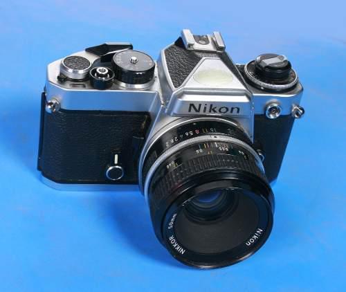 Camara Nikon Fe Con Lente 50mm