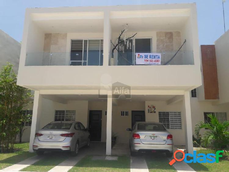 Casa en Renta en Playa del Carmen