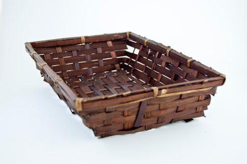 Charola De Bambu, Carrizo, Mimbre, Arcón, Canasta,