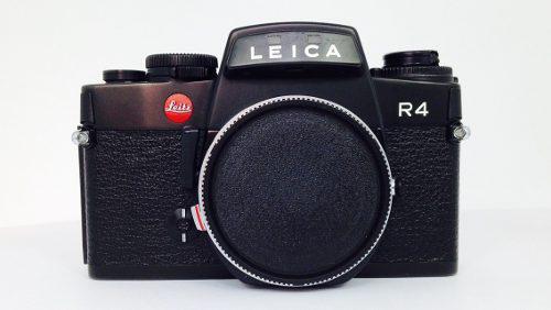 Cámara De Rollo De 35 Mm Marca Leica Modelo R4 (inv 232)