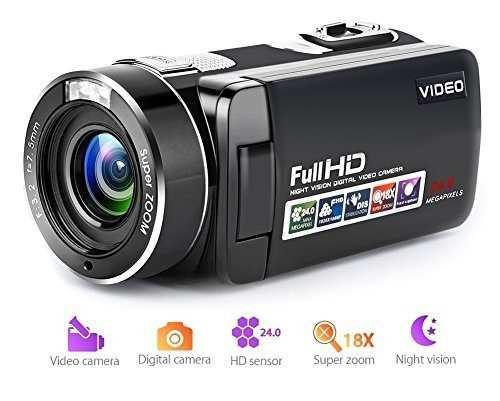 Cámara De Vídeo Videocámara Full Hd Cámara Digital 1080p