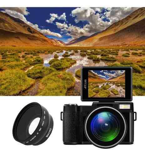 Cámara Digital 123180555518 Full Hd 1080p
