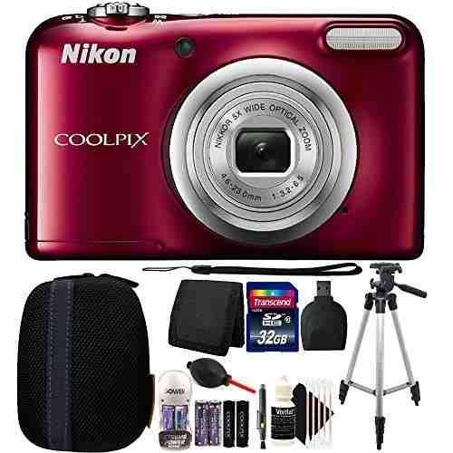 Cámara Digital Compacta Nikon Coolpix A10 16.1 Mp (roja)