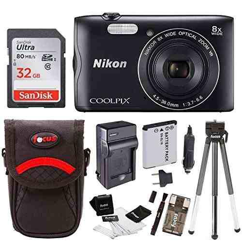 Cámara Digital Con Wi-fi Nikon Coolpix A300 (negro) Con Kit