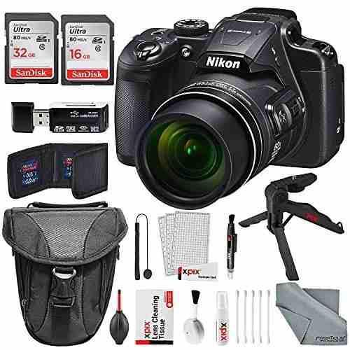 Cámara Digital Con Wi-fi Nikon Coolpix B700 4k, Con Un
