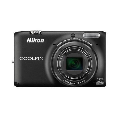Cámara Digital Con Wi-fi Nikon Coolpix S6500 Con Zoom 12x