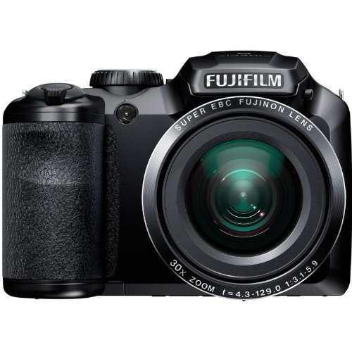 Cámara Digital Fujifilm Finepix S4850 Negro 16mp Con Zoom
