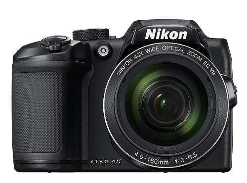 Cámara Digital Nikon Coolpix B500 16mp 40x Zoom -negro