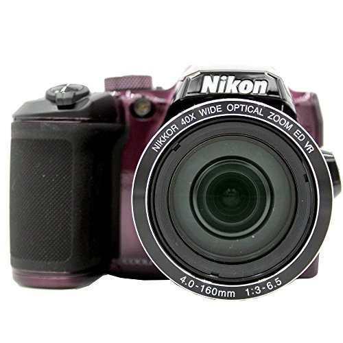 Cámara Digital Nikon Coolpix B500 (Púrpura) Modelo Inter