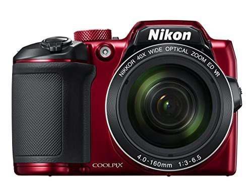 Cámara Digital Nikon Coolpix B500 (rojo)