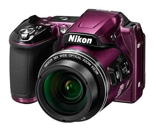 Cámara Digital Nikon Coolpix L840 (Púrpura) - Versión I