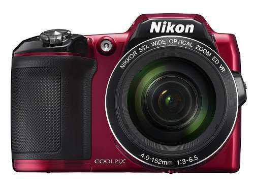 Cámara Digital Nikon Coolpix L840 - Rojo
