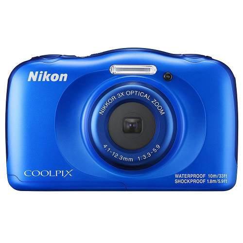 Cámara Digital Nikon Coolpix W100 Azul