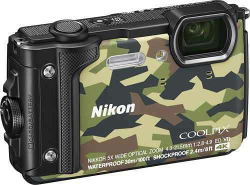 Cámara Digital Nikon Coolpix W300 (Camuflaje) Vqa073e1