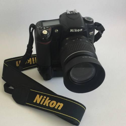 Cámara Digital Nikon D80 Seminueva Con Lente Nikon 18-55