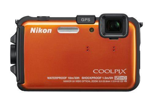 Cámara Digital Prueba De Impermeable Nikon Coolpix Aw100 16