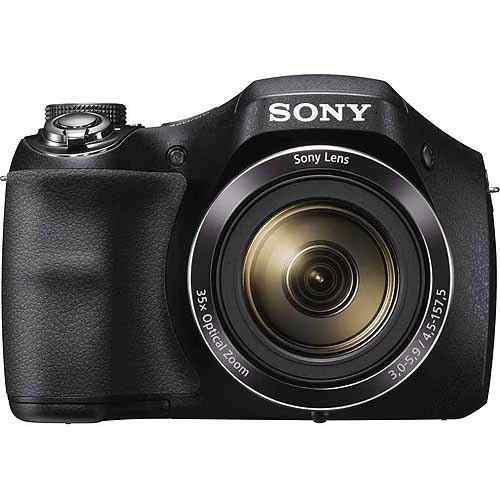 Cámara Digital Sony Dsc-h300/b Con 20.1 Mega Píxeles