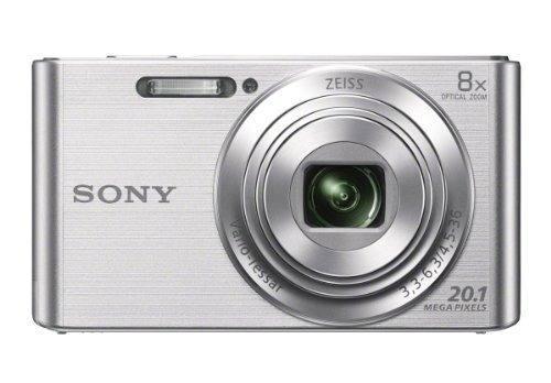 Cámara Digital Sony Dscw830 20.1 Mp Con Lcd 2.7 In (plata)