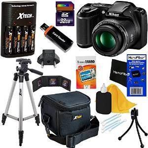 Cámara Nikon Coolpix L340 Digital Con 28x De Zoom Y Vídeo