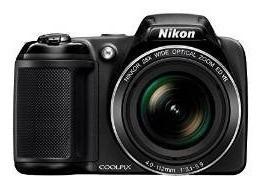 Cámara Nikon Coolpix L340 Digital, Negro