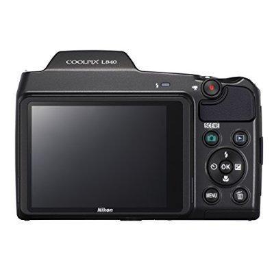 Cámara Nikon Coolpix L840 Digital Con Zoom Óptico 38x Y