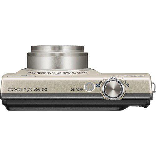 Cámara Nikon Coolpix S6100 16 Mp Digital Con Nikkor 7x Gran