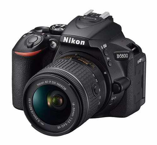 Cámara Nikon D5600 Con Lente Af-p Dx Nikkor 18-55mm Vr