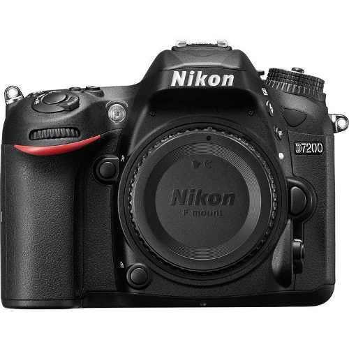 Cámara Nikon D7200 Cuerpo 24.2 Mp Dx Wifi Nfc Slr Reflex