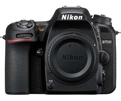 Cámara Nikon D7500 (solo Cuerpo) 20.9mpx Format Dx