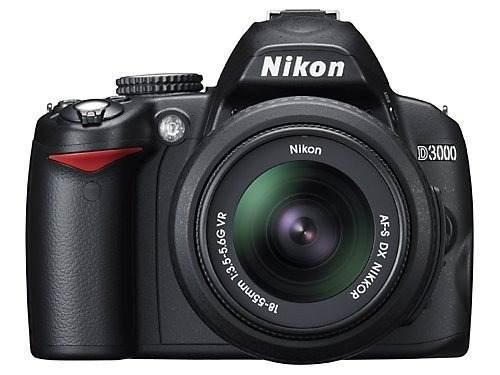 Cámara Réflex Digital Nikon D3000 10.2mp Con Objetivo Zoom