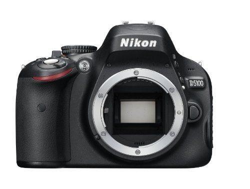 Cámara Réflex Digital Nikon D5100 16.2mp Cmos Con Monitor