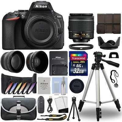 Cámara Réflex Digital Nikon D5600 + Kit De 3 Lentes De