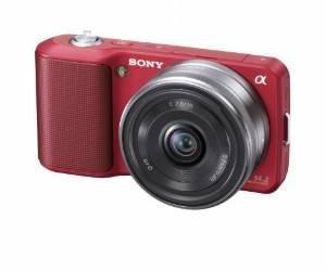 Cámara Sony Alpha Nex Nex3a / R Digital Con 16mm F2.8 Lente