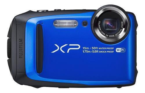 Cámra Digital Fujifilm Finepix Xp90 Azul A Prueba De Agua