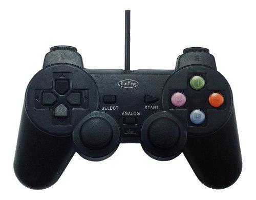 Control Joystick De Juegos Pc Laptop Gamepad 2 Palancas Usb