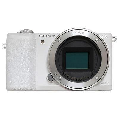 Cuerpo Blanco, Cámara Digital De Sony Alpha A5100